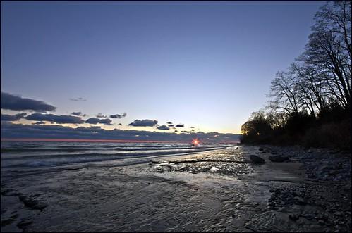 sunset ontario lakeshore lakeontario cobourg abigfave lucaspoint