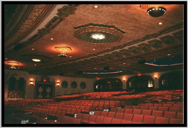 Akron Civic Theatre ~ Akron Ohio ~ Decor