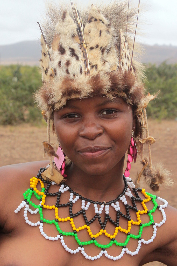 South Africa - Zulu Reed Dance Ceremony  Zulu Reed Dance -4431