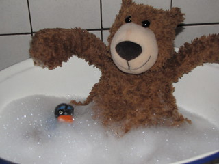 take a bath with me