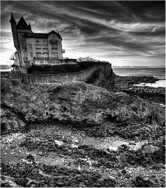 ★ Biarritz, villa belza ~ Karim SAARI ©