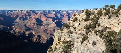 Views near Grandeur Point, Grand Canyon National Park, Arizona