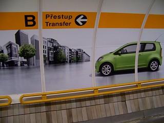 Skoda in metro.