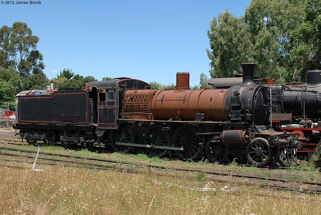 D3 619 at Maldon by James Brook