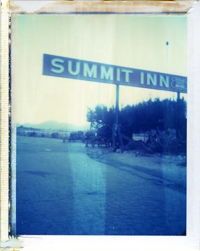 california sunset polaroid route66 desert 190 summitinn oakhills iduv expired022008