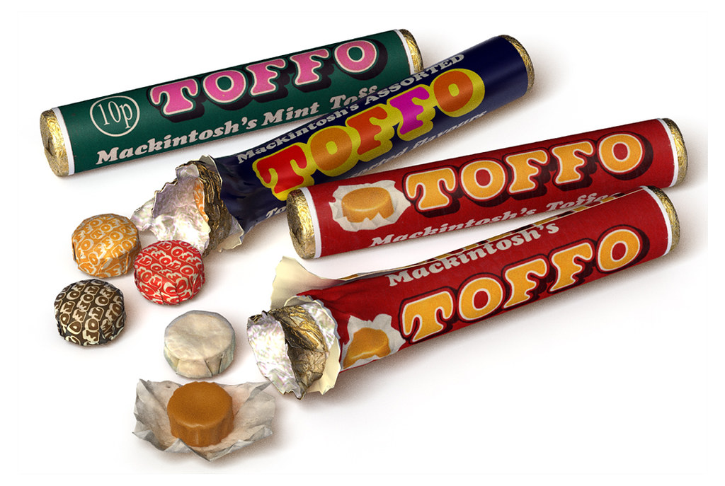 The Great British Tuck Shop Toffo (2011) | Phil Norman - 3D