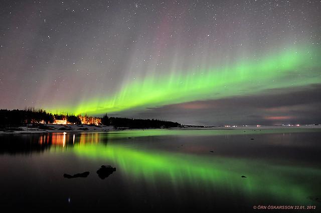 Norðurljós / Northern Lights / Aurora borealis