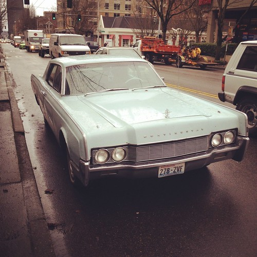 1966 Lincoln Contintental   by runningonfumes