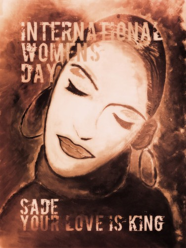 #2 Winner of the International Women's Day Poster - Sade | by movementh