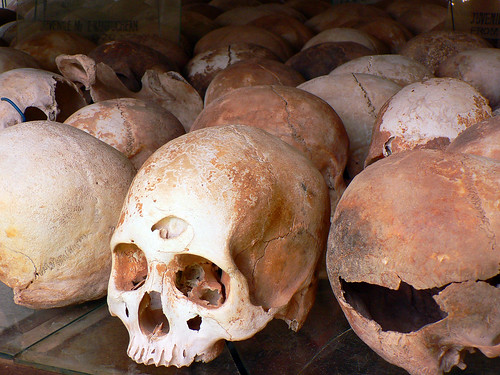 Skulls at Killing Fields | by The Hungry Traveller