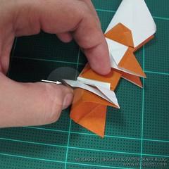 วิธีพับกระดาษเป็นรูปหมี (Origami Bear) 027