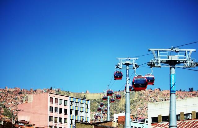 A caminho de El Alto