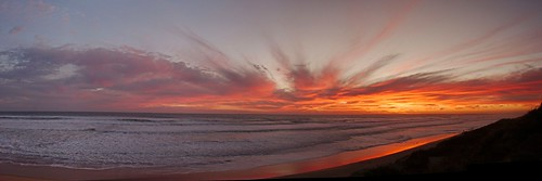 Autostitch panorama sunset II | by imageo