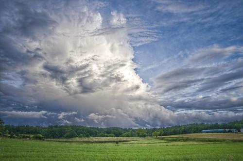 sky clouds landscape ciel nuages paysage hdr pentaxk5