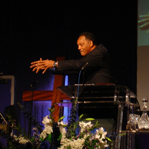 Rev Jessie Jackson in Reading 2009