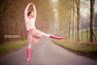 The Pink Ballerina -  Jump #62 of #100 | by Olivia L'Estrange-Bell