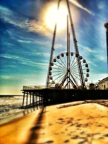 ocean new beach wheel seaside nj ferris shore jersey boardwalk heights ipad snapseed