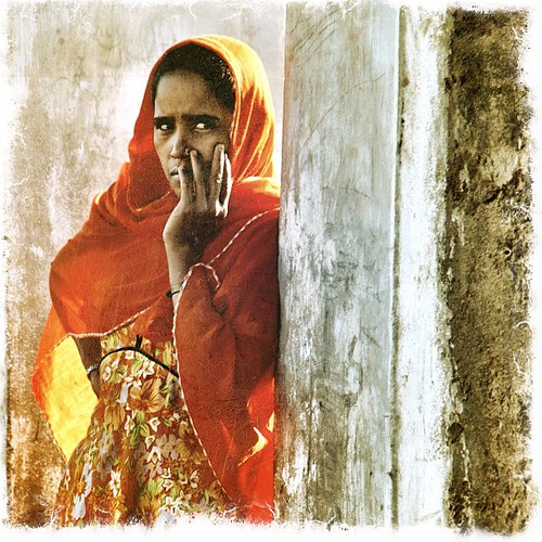 Woman in doorway. Village India. Gujarat | by retrotraveller