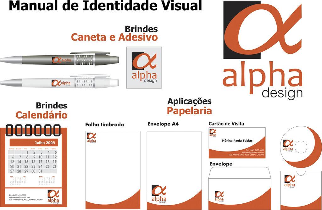 7f69e74ff ... Manual de Identidade Visual - Alpha Design