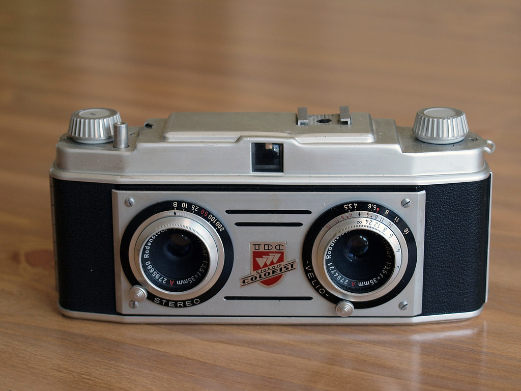 1954 - TDC Stereo Colorist | 1954 - A stereo camera made in