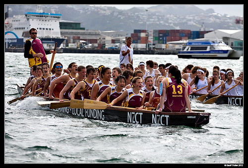 Dragon Boaters.