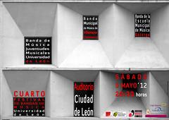 "IV FESTIVAL DE BANDAS DE MÚSICA ""UNIVERSIDAD DE LEÓN"" - 05.05.12"