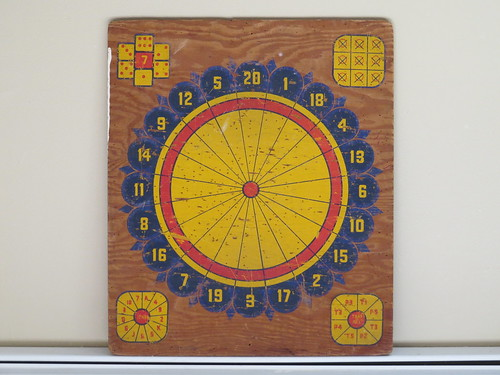 Old American Dartboard | by markbrindza