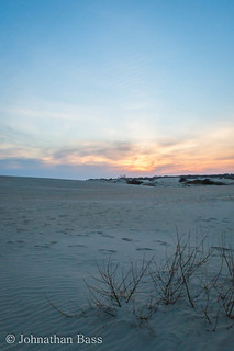 Sunset at Jockey's Ridge