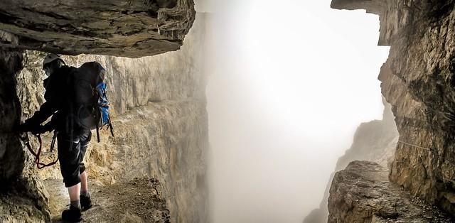 Brenta Dolomites Bocchette Alte - via ferrata