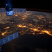 U.S. Eastern Seaboard at Night from the ISS by NASA Earth Observatory