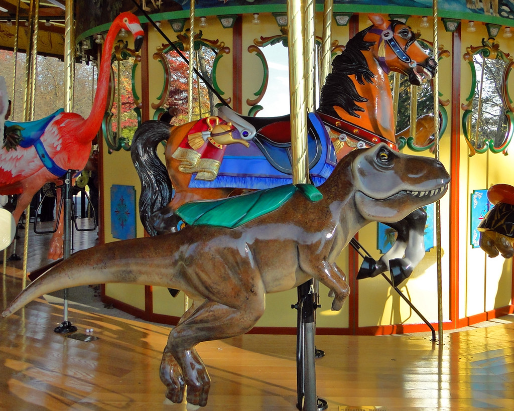 Detroit Zoo Carousel | The carousel, which opened in Septemb… | Flickr