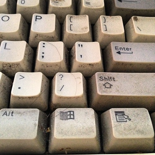 Whose keyboard is disgusting? | by fimoculous