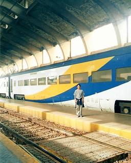 Recuerdos de papel fotográfico: AEZ-42 y yo, en Talca (Nov. 2004)
