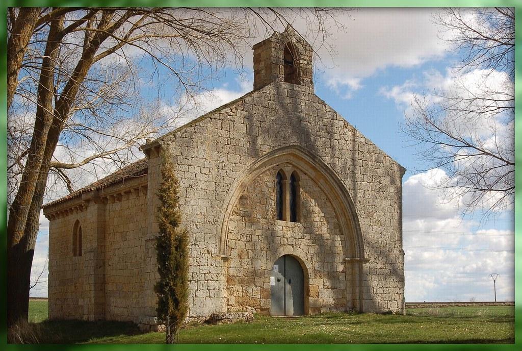 Población de Campos (Palencia). Ermita de San Miguel | Flickr