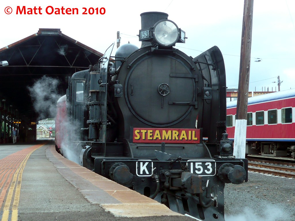 K 153 Sits At Geelong by MattOatenVR
