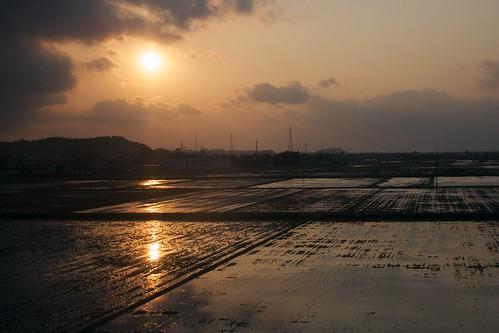 sunset sky sun japan canon twilight 夕日 日没 sigma30mmf14