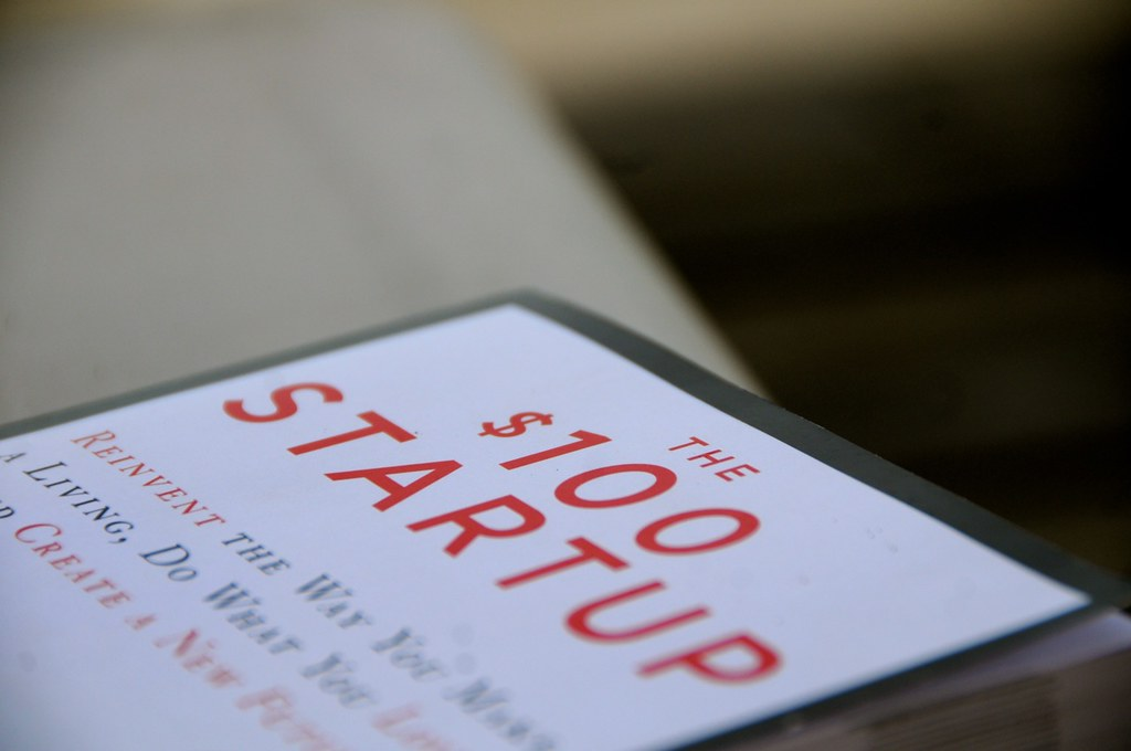 The $100 Startup Book Goes On Tour - Set 1