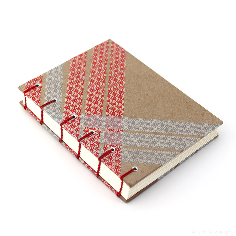 front cover: washi tape journal