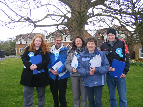 Cottam Canvassers | by fyldeca