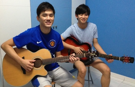 Private guitar lessons Singapore Boon Yew