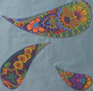 DHWQ Week 43 - Three Leaves | by Quiltjane