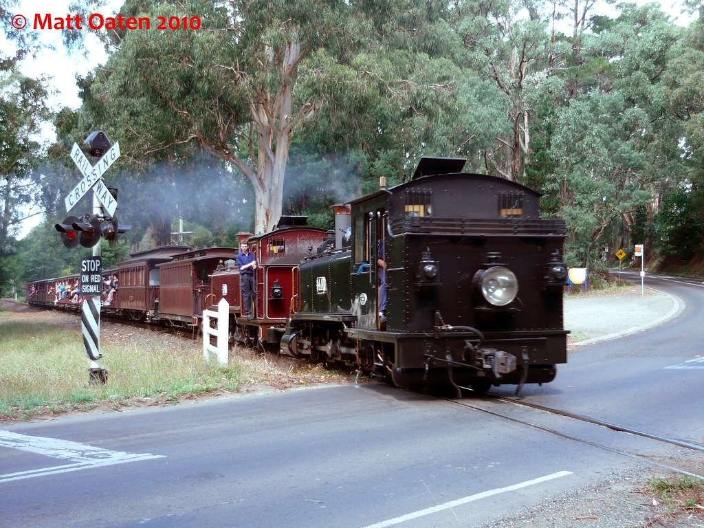14A and 7A - Puffing Billy Railway by MattOatenVR
