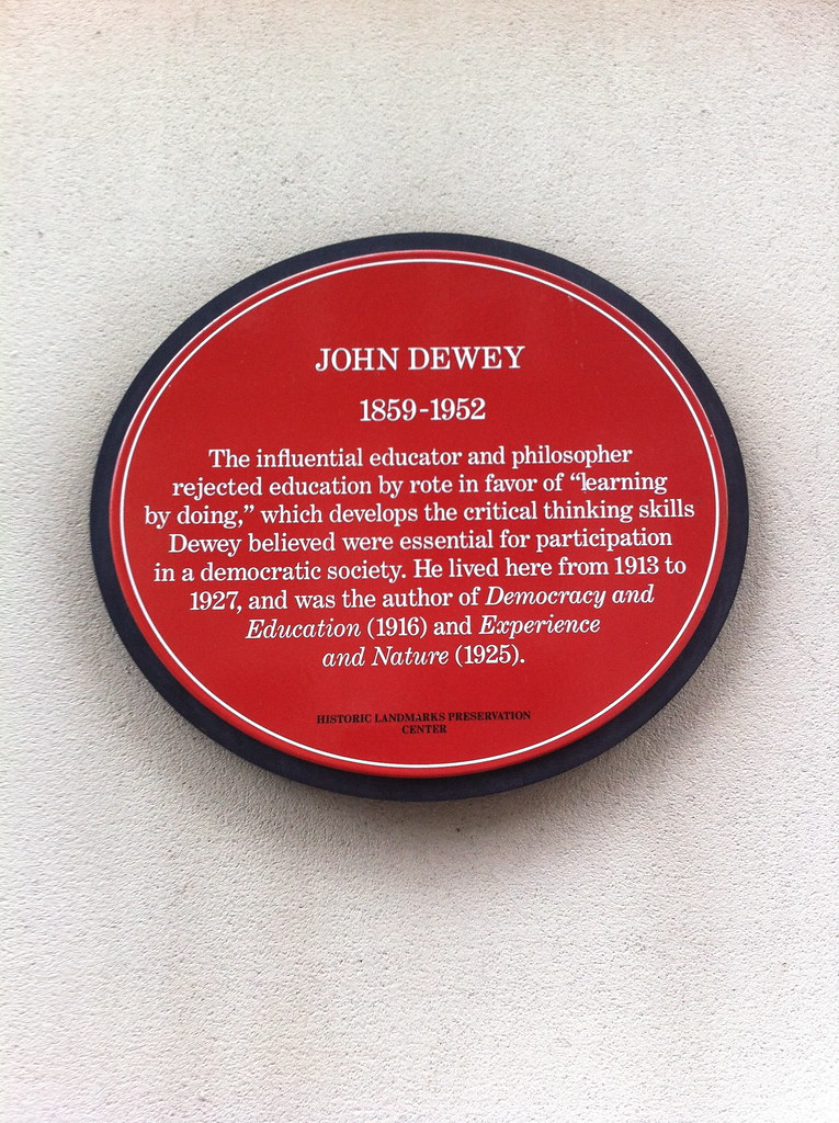 John Dewey: Plaque
