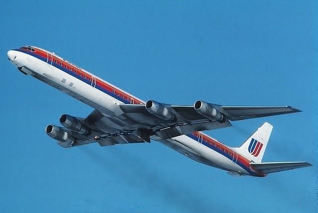 N8079U United DC-8-61 at KCLE
