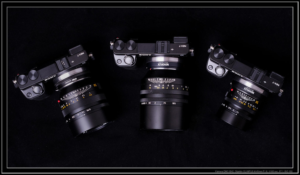 NEX-7 with 50mm lenses Noctilux, SLR Magic 0 95 and Summil… | Flickr