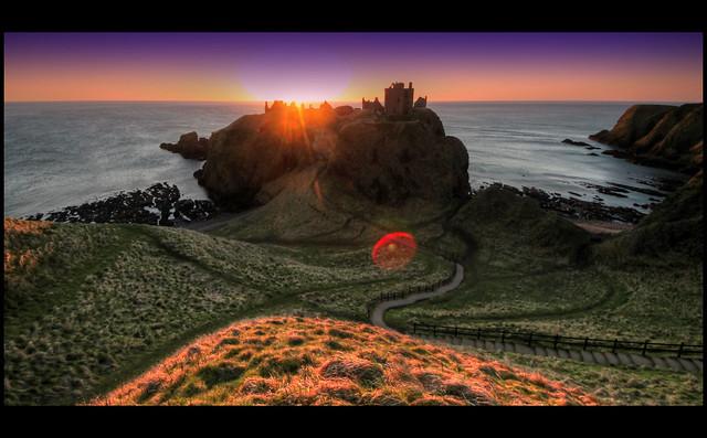 Dunnottar Castle, Aberdeenshire, Scotland.
