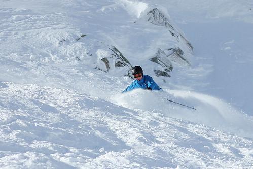 if i decide to go ski, it's all eyes on me   by laura randie