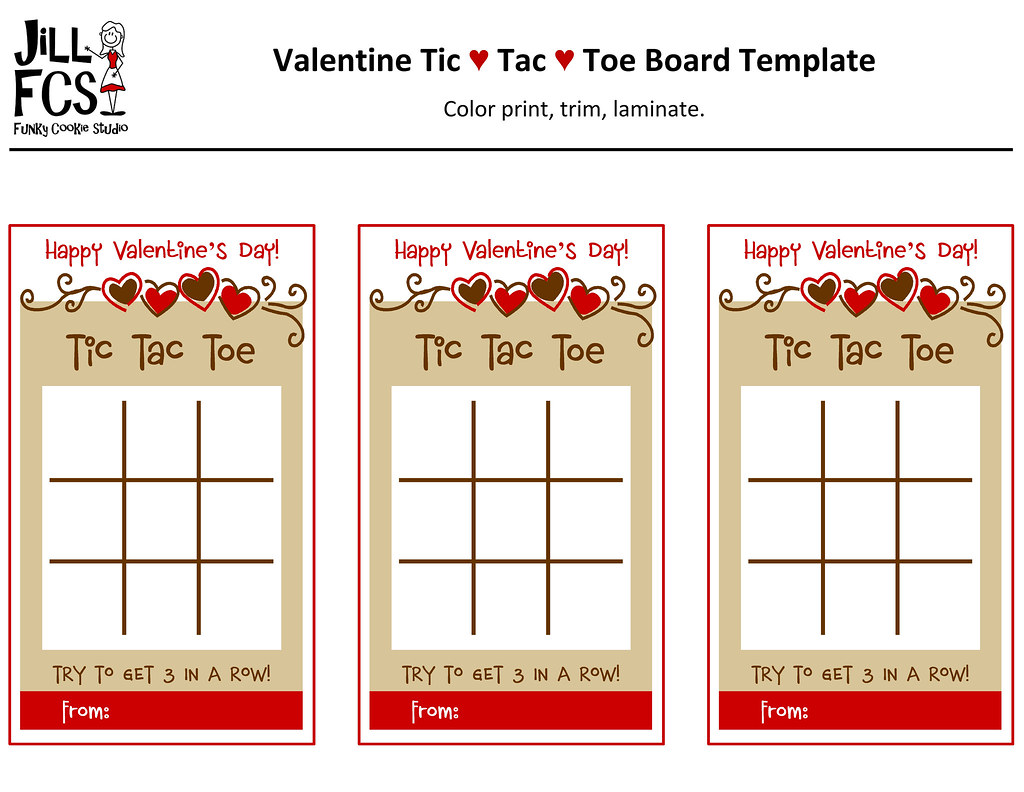 graphic relating to Tic Tac Toe Board Printable referred to as Valentine Tic-Tac-Toe Board Template Listed here is the template
