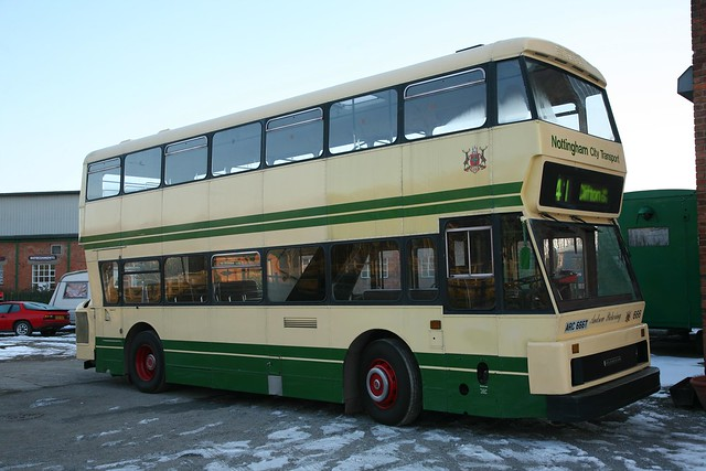 Nottingham City Transport Northern Counties / Leyland AN68/1R Atlantean ARC 666T / 666 'Andrew Pickering'