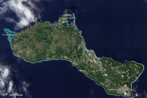 Guam | by NASA Earth Observatory
